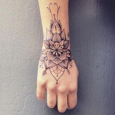 upper wrist tattoo #WristTattoos