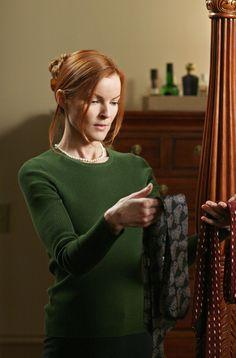 Desperate Housewives: Marcia Cross as the lovely Bree Van de Kamp