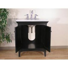 @Overstock.com - Granite Top 30-inch Single Sink Vanity - This single sink vanity is perfect for your next bathroom remodel. Featuring classic detailing, this traditional furniture piece brings elegance to any home.    http://www.overstock.com/Home-Garden/Granite-Top-30-inch-Single-Sink-Vanity/5971750/product.html?CID=214117  $714.99