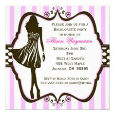 Check out this FREE Bachelorette Party @Evite invitation design ...