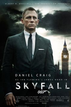 Skyfall poster, t-shirt, mouse pad James Bond Skyfall, James Bond Movie Posters, James Bond Movies, Ralph Fiennes, Judi Dench, Love Movie, I Movie, Daniel Craig Skyfall, Bond Series