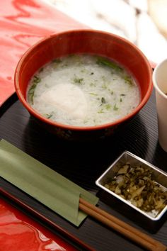 Japanese Rice Porridge, Okayu お粥