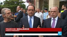 """France church attack: François Hollande says """"attackers claimed to be ac..."""
