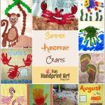 20 Summer Handprint Crafts