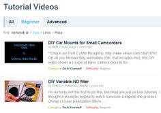Vimeo VIDEO DIY TUTORIALS