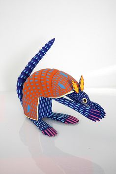 Armadillo by Alebrijes Jimenez, via Flickr