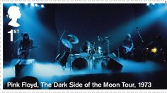 British psychedelic rock monsters Pink Floyd are being celebrated by the Royal Mail, the U.'s postal service. Uk Stamps, Postage Stamps, Pink Floyd, Psychedelic Rock, Penny Black, Royal Mail, Stamp Collecting, Countries Of The World, Dark Side