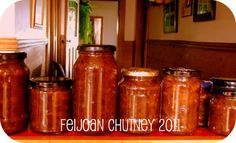 Easy Feijoa Chutney – Recipe