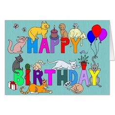 Happy Birthday for the Cat Lover