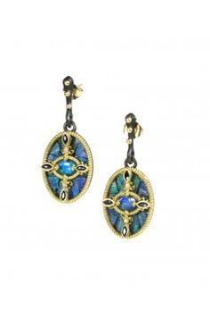 Mosaic opal earrings=2290<3<3