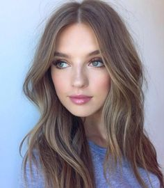 Image result for middle part bangs