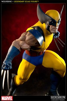 Marvel Wolverine Legendary Scale(TM) Figure by Sideshow Coll | Sideshow Collectibles