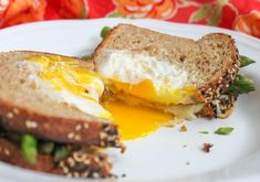 Egg in a Basket Grilled Cheese with Asparagus | 21 Meals With Tons Of Protein And No Meat