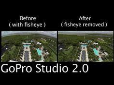 ▶ Tip #224 GoPro - Studio 2.0 Remove Fisheye Look - YouTube