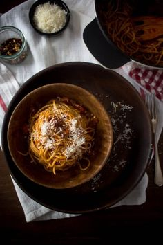 spaghetti all' amatriciana 1