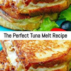 It's ooey-gooey and packed full of delicious flavor, and perfect for the nights when you just want to put something […] Hot Tuna Melt Recipe, Recipes With Crushed Pineapple, Dog Bread, Cooking Recipes, Tuna Recipes, Sandwich Recipes, Easy Recipes, Tuna Melts, Alfredo Recipe