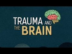 useful video to help people understand Trauma and the Brain (and points to remember for those working with trauma victims)... and all in an amazing Scottish accent!