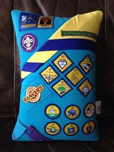 From The Scout Association - old beaver uniform cushion