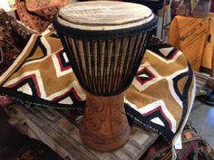 Vintage African Dance Djembe Drum - $248