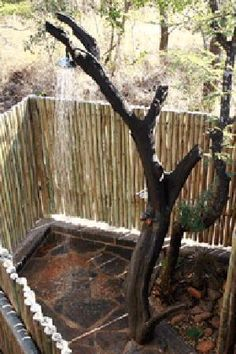 Porcupine Bush Lodge: Bathrooms of tented accommodation