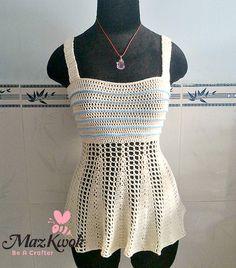 crochet peplum tank top, crochet tank top, crochet tank top free pattern, crochet lacy tank top, crochet tank