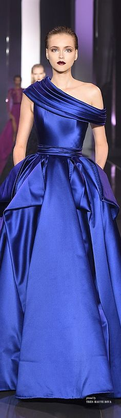 Ralph & Russo Couture Fall/Winter 2014-15. For the color and the neckline.