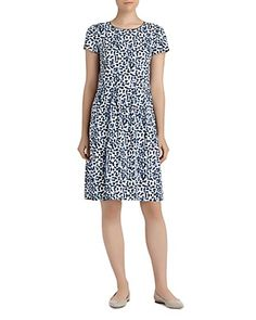 Lafayette 148 New York Gina Printed Dress