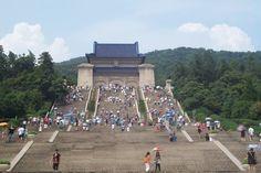 Sun Yat-sen Masoleum, Nanjing, www.summerstudytour-china.com