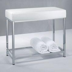 Banc de salle de bains sur pinterest salle de bains for Banc pour salle de bain