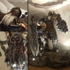 impressions from the office - our doorman ; Dark Siders, Nordic Games, Action Game, Halloween, Instagram Posts, Rpg, Spooky Halloween