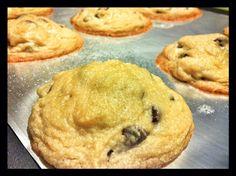 Soft & Chewey (almost allergen-free) Chocolate Chip Cookies