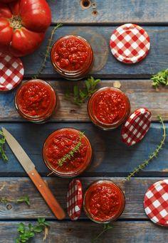 Kanela and Lemon: roasted tomato sauce Food Photography Styling, Food Styling, Chutney, Roasted Tomato Sauce, Wine Recipes, Food Inspiration, Food Porn, Healthy Recipes, Healthy Food