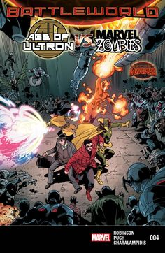 Age of Ultron vs. Marvel Zombies #4 #Marvel #AgeOfUltron #MarveZombies (Cover Artist: Leonard Kirk) Release Date: 9/2/2015