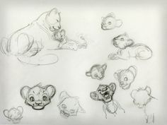 The Lion King Character Designs