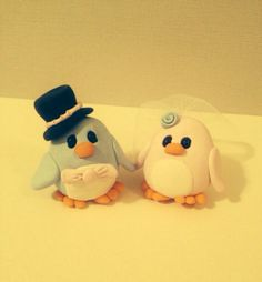 Penguin Wedding Cake Topper :)