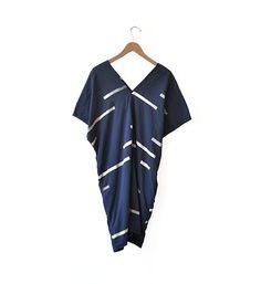 Image of Uzi V-Neck Dress