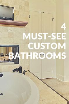 Check out these custom bathrooms: https://lynchconstructiongroup.com/4-must-see-custom-bathrooms/