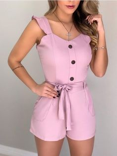 Girls Fashion Clothes, Fashion Dresses, Clothes For Women, Cute Fashion, Girl Fashion, Classy Outfits, Casual Outfits, Western Dresses For Girl, Playsuits