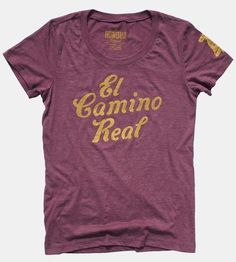 Women's El Camino Real T-Shirt by Honour Brand on Scoutmob Shoppe