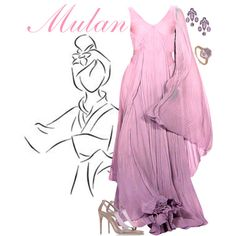 """Mulan"" by alyssa-eatinger on Polyvore"