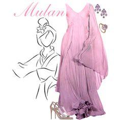 """Mulan"" by alyssa-eatinger on Polyvore"
