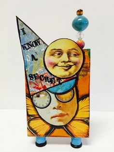 Artist Trading Block by Kim Collister