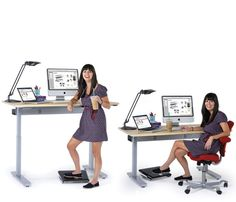 Standing Desk | Stand Up Desks and Height Adjustable Desks from Anthro