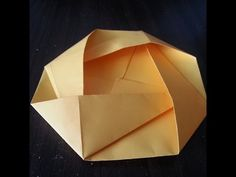 Make Origami Camellia Flower in 4 minutes only!