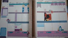 My planner made beautiful with Disney love