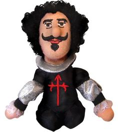 Diego Velazquez Finger Puppet. Site has all the artists I teach!! Do want.