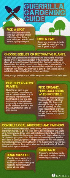 Guerrilla Gardening Guide