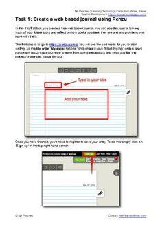 Nik's Learning Technology Blog - Free Downloads - Task 1: Create a web Based Learning Journal