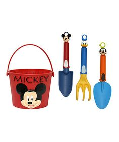 Mickey Mouse Garden Pail Tool Set