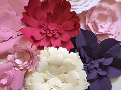 Resultado de imagem para paper flower walls